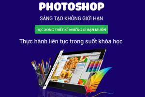 Khóa học thiết kế Photoshop cơ bản